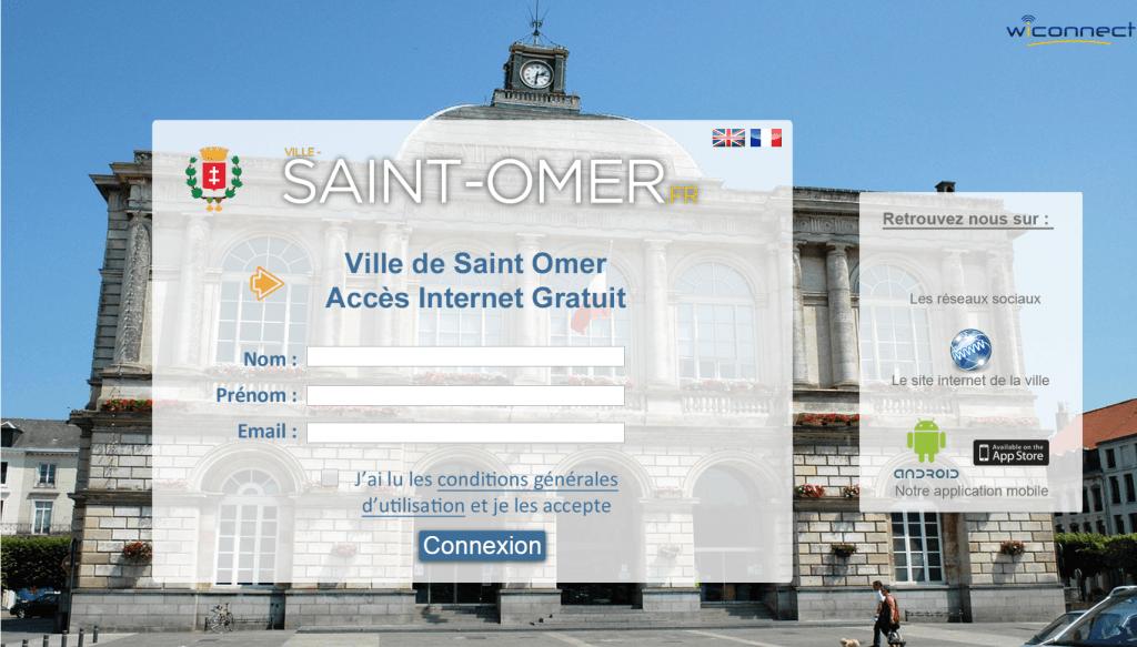 Hotspot wi fi ville de saint omer wiconnect for Piscine de saint omer